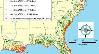 Rising Seas Will Swallow 14,000 U.S. Historic Sites – Study