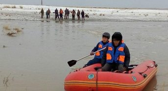 Kazakhstan – Hundreds Evacuated After Heavy Rain and Melting Snow Cause Flooding in East