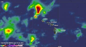 NASA GPM Data Used to Evaluate Hawaii's Flooding Rainfall