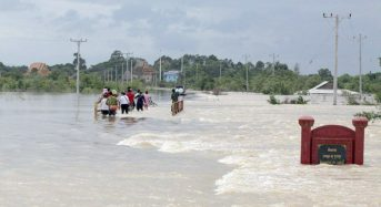 Cambodia – Almost 1,000 Families Displaced as Floods Hit 5 Provinces