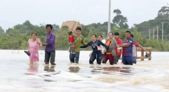 Cambodia – 1,700 Homes Damaged by Floods