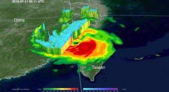 NASA Sees Typhoon Maria Make Landfall in China