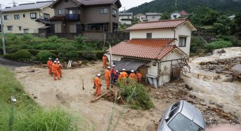 Japan – Deadly Mudslide in Nagasaki After 743mm of Rain in 2 Days