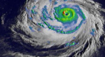 Super Typhoon Trami's Rainfall Examined by NASA