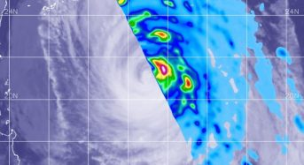 NASA Measures Rainfall Rates Within Typhoon Kong-Rey
