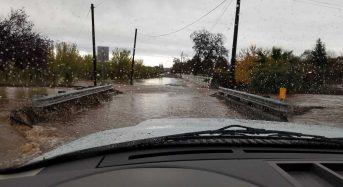 California – Flooding Hits Areas Burned by Wildfires