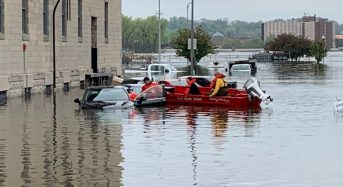 USA – Deadly Storms and Floods Hit Midwest and South, Mississippi River at Record High