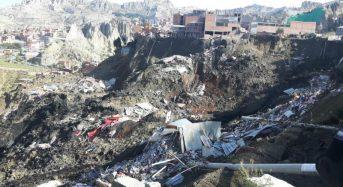 Bolivia – La Paz Landslide Leaves 3 Missing and Over 40 Houses Destroyed