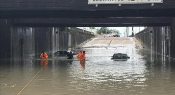 USA – Flash Floods After Torrential Rain in South