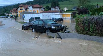 Switzerland – Flash Floods Cause Major Damages in Neuchâtel