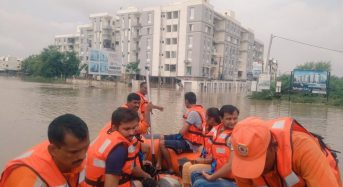 India – Floods in Rajasthan and Gujarat After Almost 50cm of Rain in 24 Hours