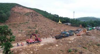 Myanmar – Over 40 Killed by Landslide in Mon State