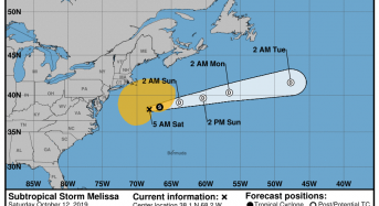 USA – Storm and High Tides Bring Coastal Flooding to New York and New Jersey