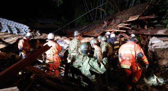 Japan – 10 Dead After More Floods and Landslides Hit  Eastern Areas