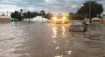 Oman – Flash Floods in Muscat After 56mm of Rain