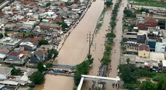 Jakarta's Flood Costs Will Increase by Up to 400% by 2050, Research Shows