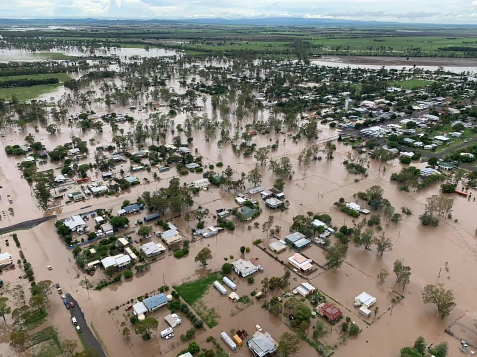 The floods of the century flood Australia