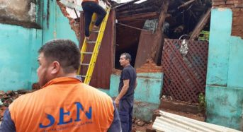 Paraguay – Heavy Rain Affects 200 Families in Asunción