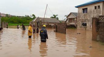 Nigeria – Buildings Damaged After Flash Floods in Ikorodu, Lagos