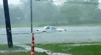 USA – Storm Cristobal Brings Flooding Along Gulf Coast