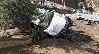 Turkey – 1 Dead, 3 Missing After Flash Floods in Artvin Province