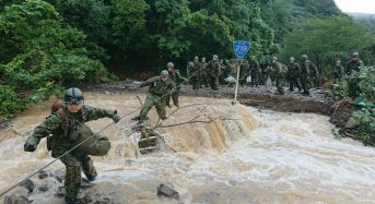 Japan – Dozens Feared Dead or Missing After Massive Floods in South