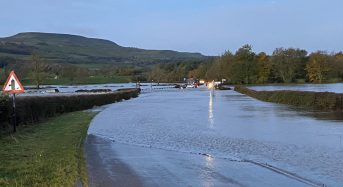 UK – Flood Rescues in Northern England After Rivers Overflow