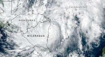 Nicaragua and Honduras – Rain From Hurricane Eta Causes Flooding