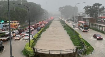 Singapore – Flash Floods After Heaviest Rainfall in 40 Years