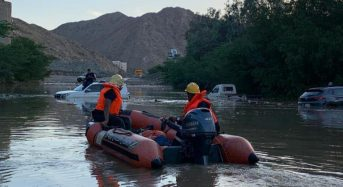 Saudi Arabia – Flash Floods Sweep Through Mecca