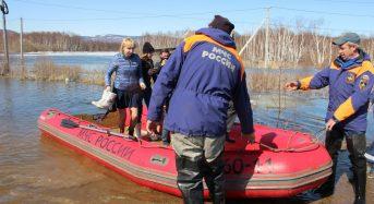 Russia – Rising Rivers Flood Homes in Khabarovsk Krai