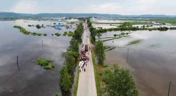 China – 20,000 Evacuate Floods in Heilongjiang