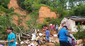 Colombia – 1 Dead, Hundreds Affected by Floods and Landslides in Antioquia