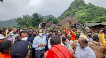 India –  Maharashtra Floods and Landslides Death Toll Climbs to 192