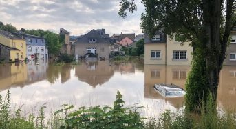 Luxembourg – Dozens Evacuated After Record Rainfall Causes Rivers to Break Banks