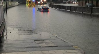 UK – Flash Floods Cause Chaos in Eastern England
