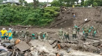 Japan – Evacuations in Kagoshima After 95mm of Rain in 1 Hour