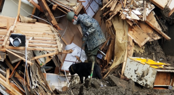Japan – Many Still Missing in Atami Mudslide as Search and Rescue Operations Continue