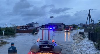 Russia – Over 1,500 Evacuate Floods in Krasnodar Region