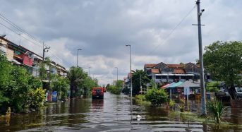 Thailand – Flooding Affects Thousands in Central Provinces