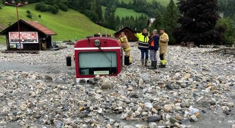 Europe – Rain Triggers Deadly Flash Floods and Mudslides in Germany, Austria and Italy