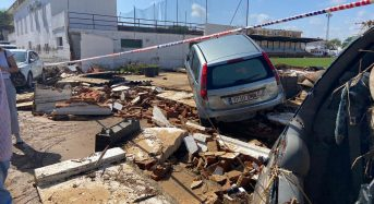 Spain – Floods Wreak Havoc in Andalusia After 112mm of Rain in 1 Hour