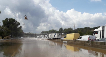 France – Dozens Rescued From Floods in Gard After 244mm of Rain in 3 Hours