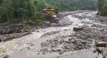 Ecuador – 2 Dead, 3 Missing After Floods in Tungurahua Province