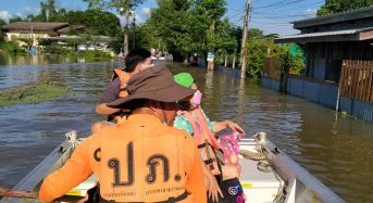 Thailand – 7 Dead, 1 Missing as Continuing Floods Affect Over 220,000 Households