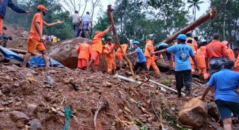 India – Floods and Landslides in Kerala Leave More Than 20 Dead