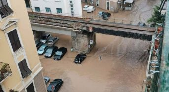 Italy – Floods and Landslides in Liguria Region After 181mm of Rain in 1 Hour